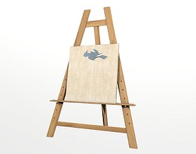 3D asset game-ready Easel