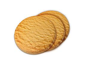 vanilla 3d Biscuit