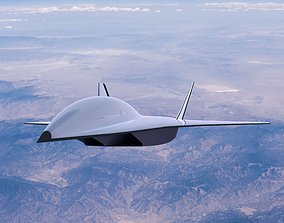 Boeing Hypersonic Valkyrie II 3D