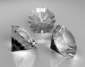 Brilliant Clear Diamond 3D model