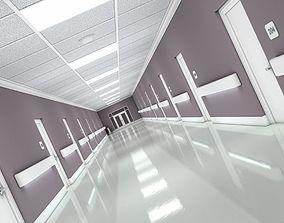 3D Hallway Modern