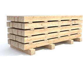 3D Wooden beam