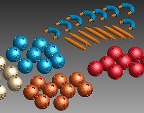 3D print model Chemistry Elements Set