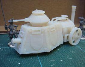fantasy steam tank 3D print model
