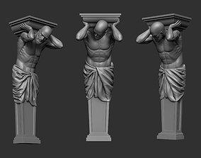 3D print model Atlas Statue 2