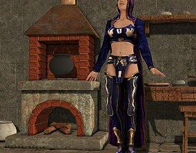 Elementalist for Vicky 4 for Poser 3D model