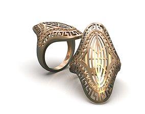3D print model Openwork ring A0-301207