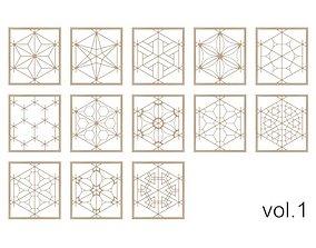 Kumiko Collection vol-1 3D