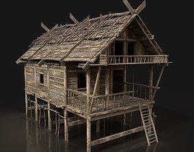 3D asset Next Gen AAA FANTASY MEDIEVAL WOODEN HOUSE 2