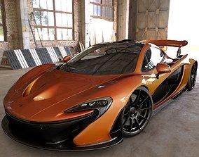 McLaren P1 3D racing