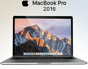 3D model Apple MacBook Pro 2016