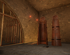 Torture - dungeon and props 3D model