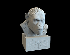 Caesar Bust - Planet Of The Apes 3D print model