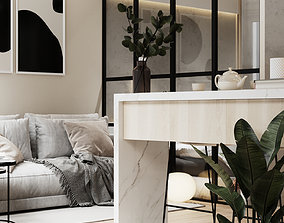 3D Modern Apartment Interior Scene 3