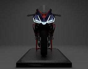 2020 Aprilia RS 660 3D model