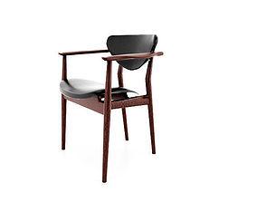 3D model Scandinavian Chair