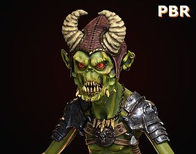 3D model Goblin Low Poly PBR