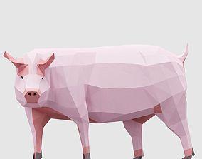 Farm Pigs 3D model