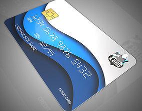 3D model Bank cards