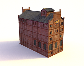 Brewery Mill 3D model