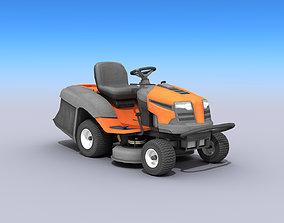 Riding Lawn Mower 3D asset