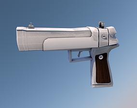 dEag - Custom Made Desert Eagle 3D asset