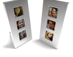 3D 3 Slot Picture Frame