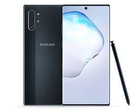 Samsung Galaxy Note 10 Plus Aura Black a51 3D