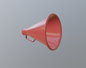 Acoustic Megaphone 3D model