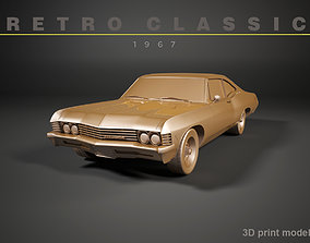 Retro Car of 1967 3D printable model