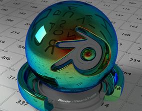 Mirror Sunglasses Shader 3D asset