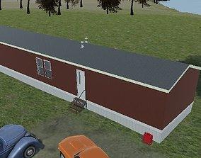 mobile home 3D model