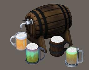 3D asset Beam mug