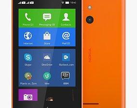 3D model max Nokia XL Orange