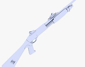 3D asset Remington 870 MCS