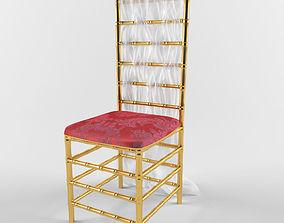 3D model wedding chair 2