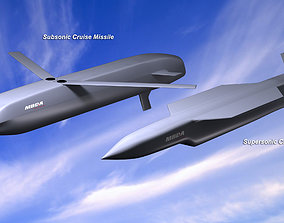MBDA Cruise Missile Concepts 3D