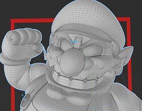 SUPER MARIO - WARIO 3D PRINT FILE