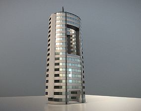 3D model City Building Design O-1