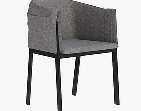 3D model Polo Grace Chair by Living Divani