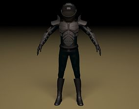 3D model Space Commando