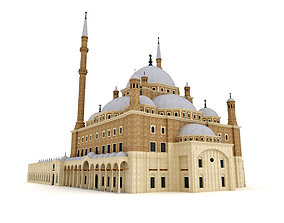 The Saladin Citadel Egypt - Muhammad Ali Mosque 3D model