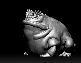 Horned Frog - HighQuality 3D printable model