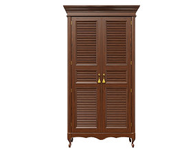 Classic cabinet 06 04 3D