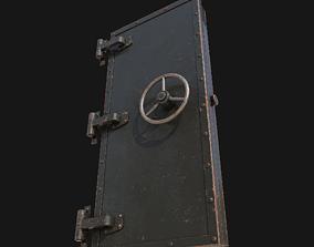 3D model Iron door
