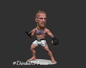 fighter 3D printable model Conor McGregor
