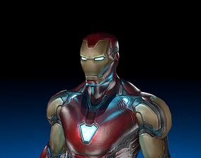 Iron Man from Avengers Endgame 3D model