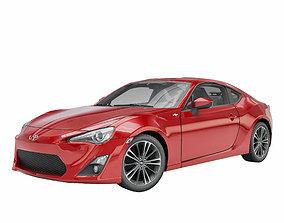 Toyota GT86 3D asset