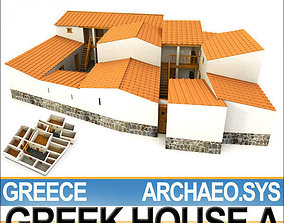 3D Ancient Greek House A