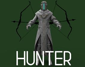 Part 1 - Sci-fi Hunter 3D model